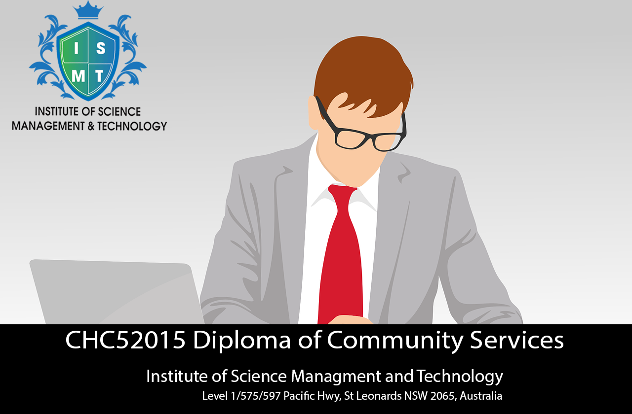 CHC52015 Diploma of Community Services at ISMT, NSW