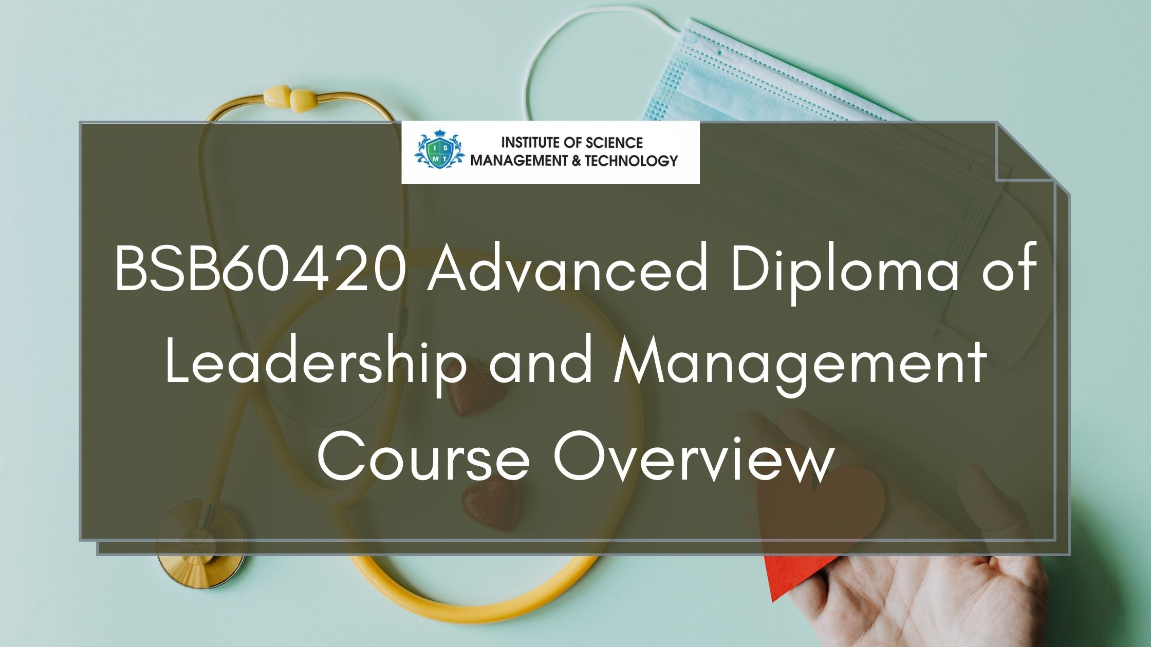 BSB60420 Advanced Diploma of Leadership and Management Course Overview